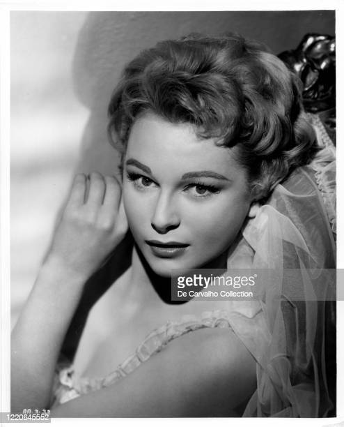 British Actress Anne Aubrey as 'Jane Carlton' in a publicity shot from the movie 'Killers Of Kilimanjaro' United Kingdom