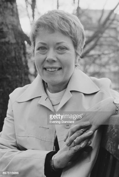 British actress Annette Crosbie UK 15th April 1977