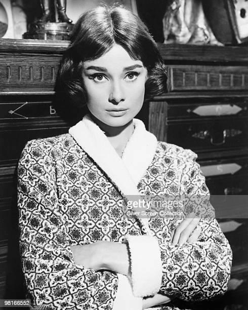 British actress Audrey Hepburn circa 1955