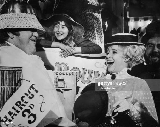 British actress Barbara Windsor stars in the children's fantasy adventure 'Chitty Chitty Bang Bang' directed by Ken Hughes for United Artists