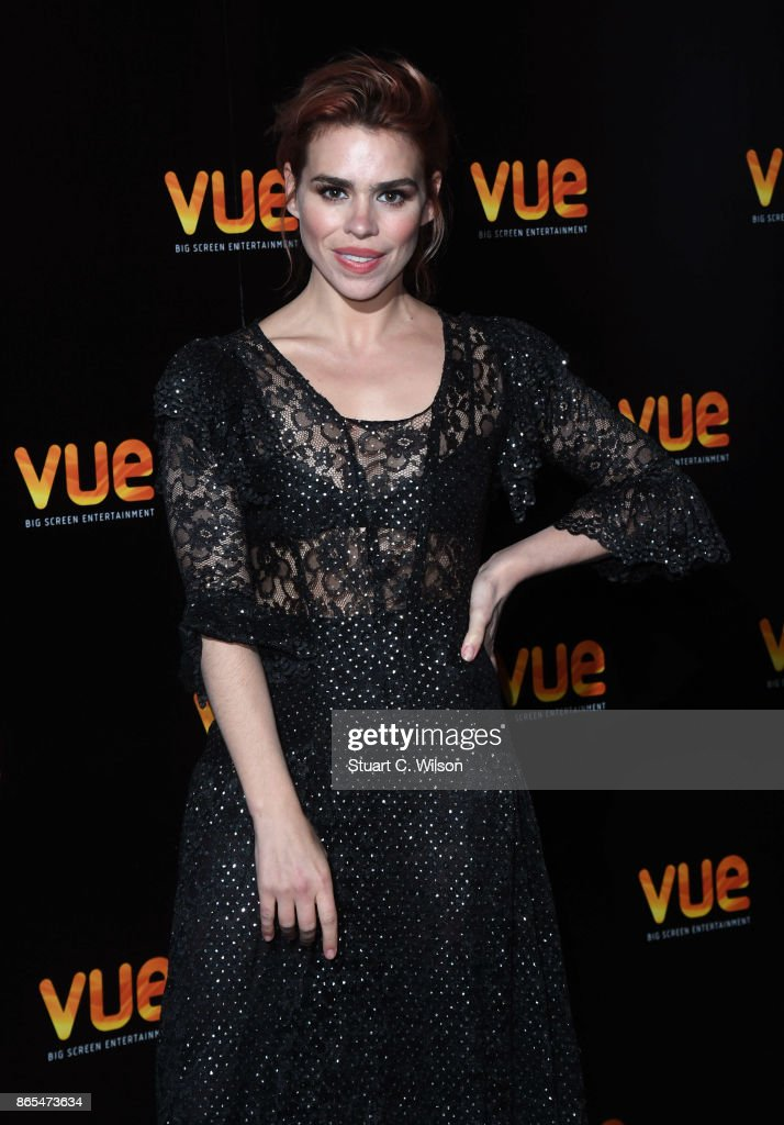 British actress Billie Piper launches Vue's Showcase of Big Screen Events at state-of-the-art Vue in London's West End at Vue West End on October 23, 2017 in London, England.