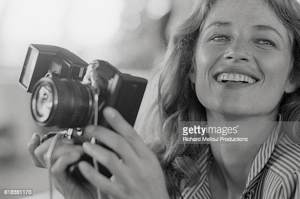 British actress Charlotte Rampling has been hired by Vogue Men to photograph the 1980 Winter collections Rampling is married to French musician...