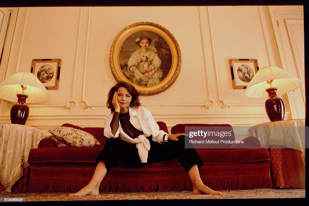 British Actress Charlotte Rampling : Photo d'actualité