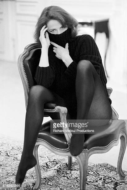 British Actress Charlotte Rampling