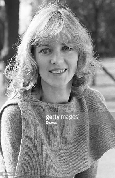 British actress Cheryl Kennedy poses on October 19 1983