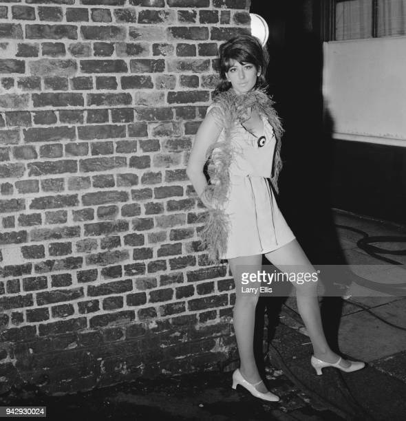 British actress columnist and comedian Maureen Lipman as 'Sylvie' on the set of film 'Up The Junction' UK 25th January 1968