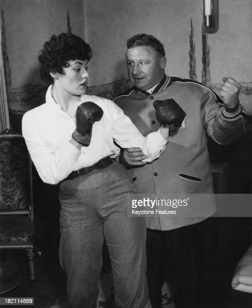 British actress dancer and 'Crazy Gang' member Anne Hart 1959