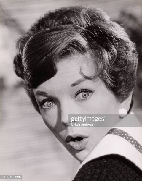 British actress Dawn Addams starring in a German movie Germany 1960