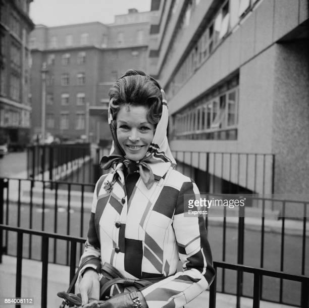 British actress Dawn Addams UK 23rd April 1970