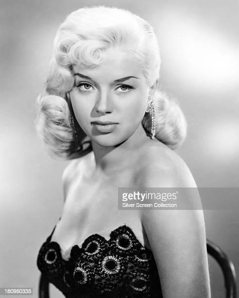 British actress Diana Dors , circa 1955.