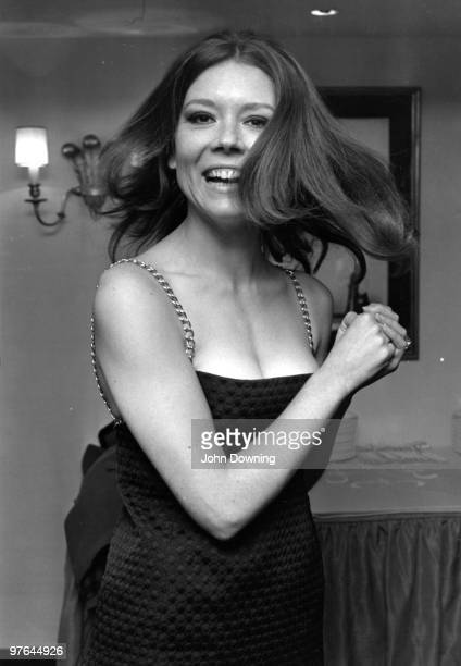 British actress, Diana Rigg . Original Publication: People Disc - HK0108