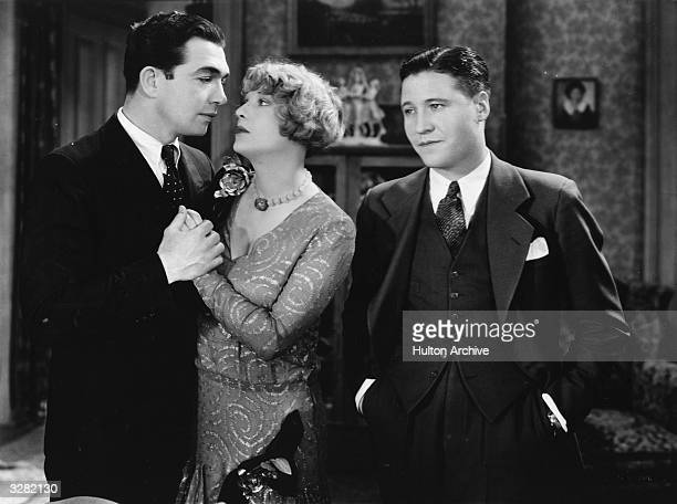 British actress Dorothy Mackaill stars with Jack Oakie born Lewis D Offield in the film 'Hard To Get' Title Hard To Get Studio First National...