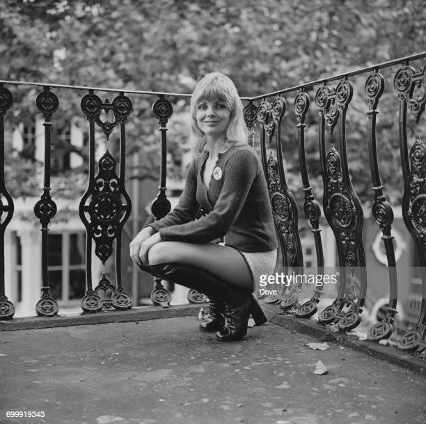 British actress Elizabeth Knight UK 21st October 1971