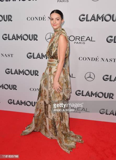 British actress Ella Hunt attends the 2019 Glamour Women Of The Year Awards at Alice Tully Hall Lincoln Center on November 11 2019 in New York City