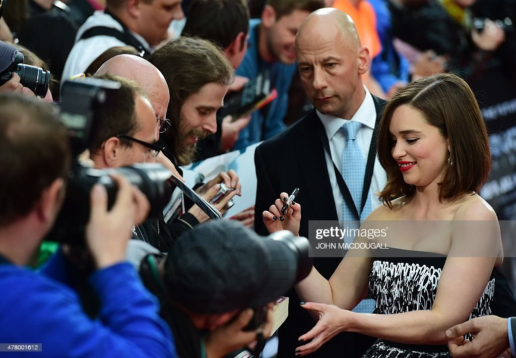 GERMANY-US-ENTERTAINMENT-CINEMA-FILM-TERMINATOR : News Photo