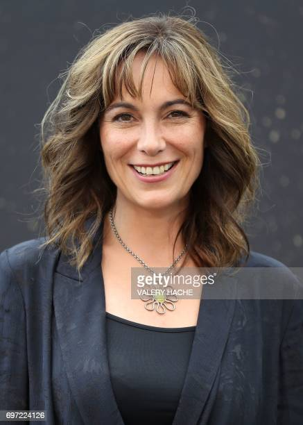 British actress Fiona Dolman poses during a photocall for the TV show Midsomer murders as part of the 57th MonteCarlo Television Festival on June 18...