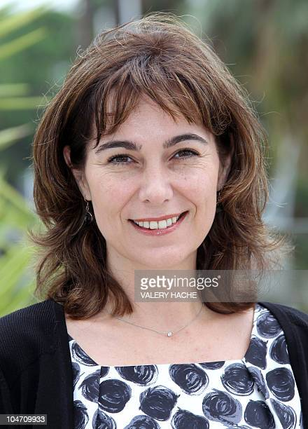 British actress Fiona Dolman poses during the TV series photocall Midsomer Murders during the 26th edition of the fiveday MIPCOM on October 04 2010...