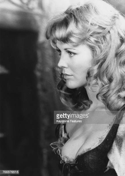 British actress Fiona Lewis in costume for her role as Edgworth Bess Lyon in James Clavell's historical drama, 'Where's Jack?', July 1968.