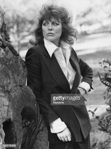British actress Fiona Lewis in Rome, circa 1974.