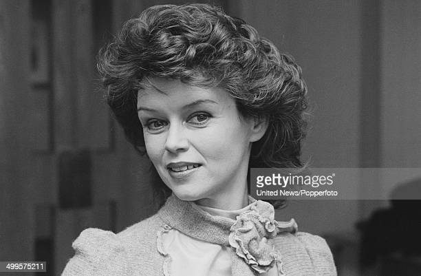 British actress Gabrielle Drake posed in London on 17th January 1985