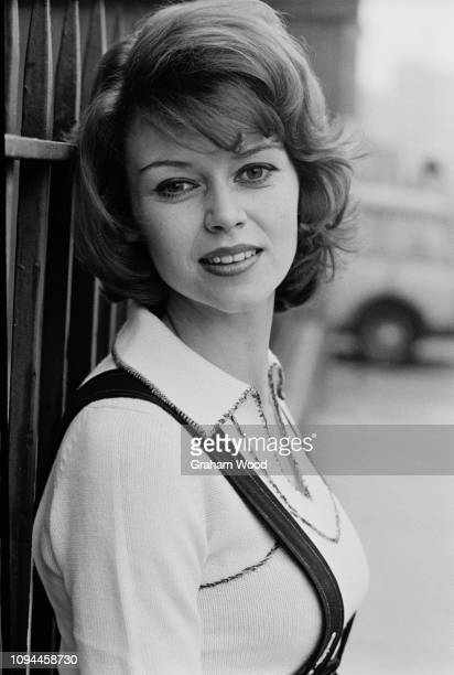British actress Gabrielle Drake UK 7th March 1975