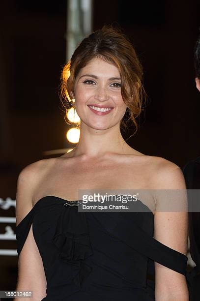 British actress Gemma Arterton arrives to the awrard ceremony of the 12th International Marrakech Film Festival on December 8, 2012 in Marrakech,...
