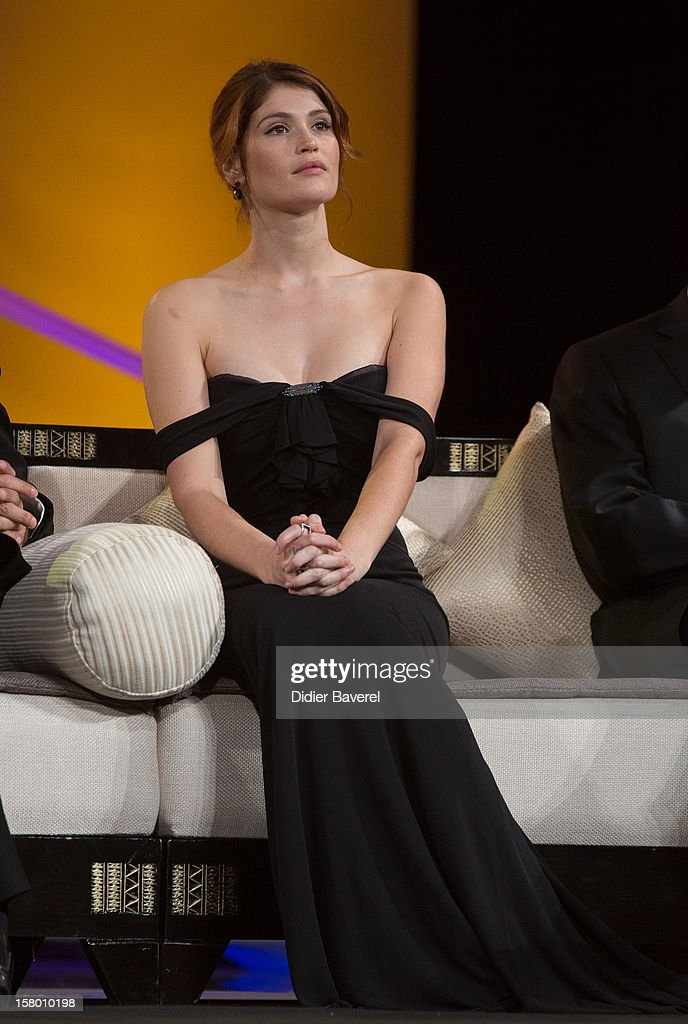 British actress Gemma Arterton attends the closing ceremony at 12th International Marrakech Film Festival on December 8, 2012 in Marrakech, Morocco.