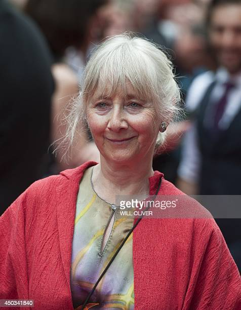 British actress Gemma Jones arrives for the premier of the film NOW In the Wings on a World Stage at Leicester Square Central London on June 9 2014...