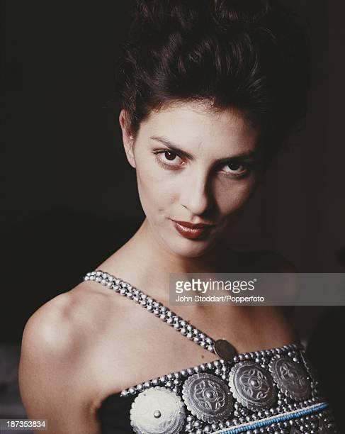 British actress Gina Bellman 1989