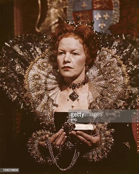 British actress Glenda Jackson as Queen Elizabeth I in the film 'Mary Queen of Scots' 1971 The film was released in the same year as the television...