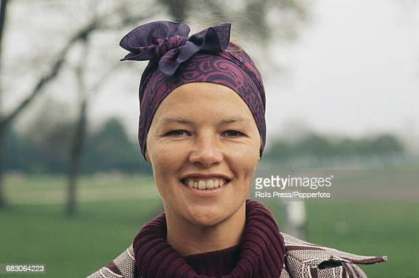 British actress Glenda Jackson in Kensington Gardens London in April 1971 after winning the Academy Award for Best Actress for the film 'Women In...