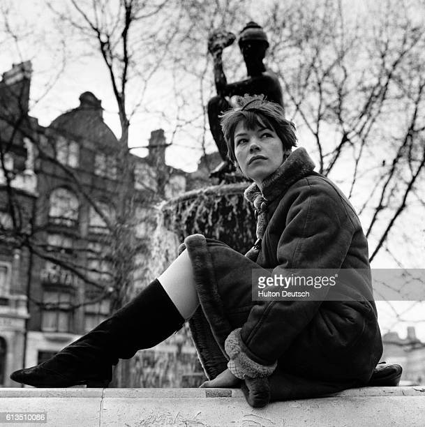British actress Glenda Jackson