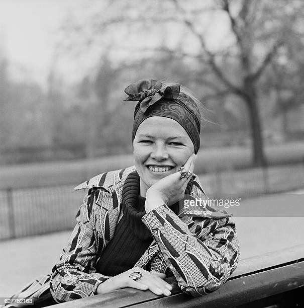 British actress Glenda Jackson UK 16th April 1971 She had just been awarded an Academy Award for her role as Gudrun in 'Women in Love'
