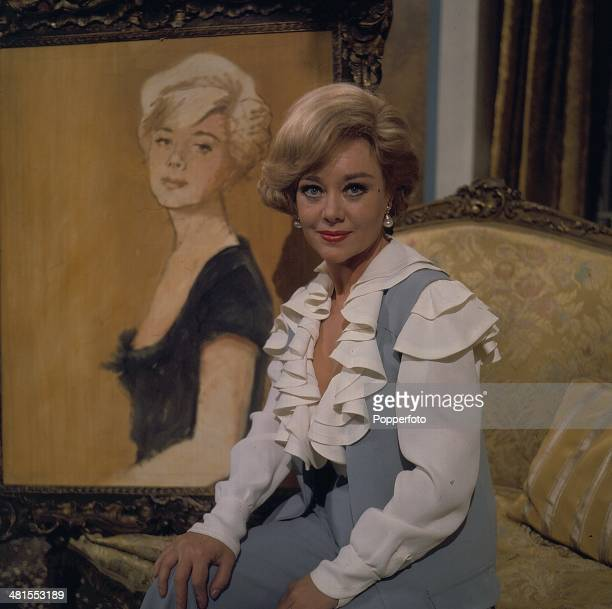 1968 British actress Glynis Johns pictured in a scene from the television drama 'Star Quality' in 1968