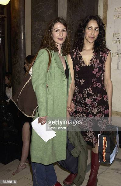 British actress Helen Baxendale arrives at the opening of the new Saatchi Gallery in County Hall with work by a range of artists including Damian...