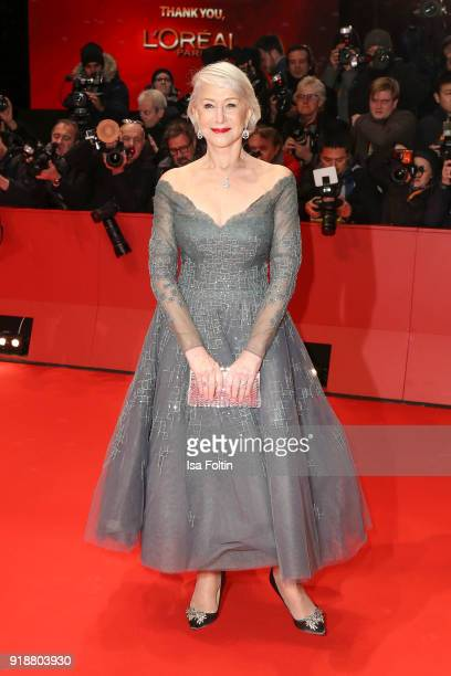 British actress Helen Mirren attends the Opening Ceremony 'Isle of Dogs' premiere during the 68th Berlinale International Film Festival Berlin at...