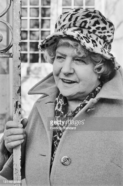 British actress Irene Handl , UK, 16th February 1974.