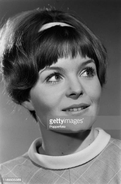 British actress Isla Blair appears in the role of Jane during shooting of 'The Dickie Henderson Show' for Associated-Rediffusion Television in...