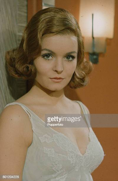 British actress Isla Blair pictured on the set of the television drama series 'The Liars' in 1966.