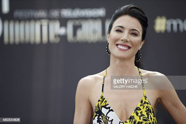 """British actress Jaime Murray poses during a photocall for the TV show """"Defiance"""" as part of the 54nd Monte-Carlo Television Festival on June 9, 2014..."""