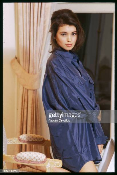 British actress Jane March plays the role of the young girl in French director JeanJacques Annaud's film The Lover