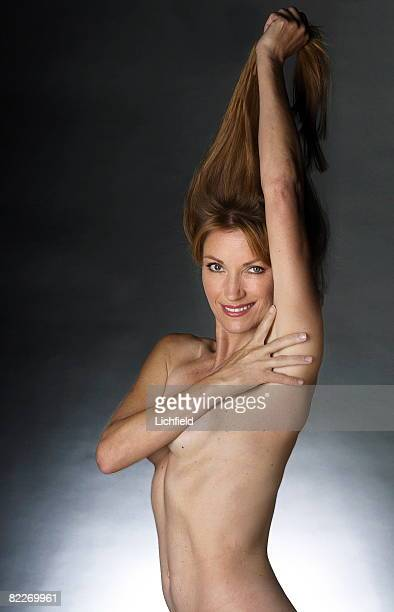 British actress Jane Seymour photographed in the Studio to recreate the shot featured in the book 'Lichfield The Most Beautiful Women' 7th August 2001