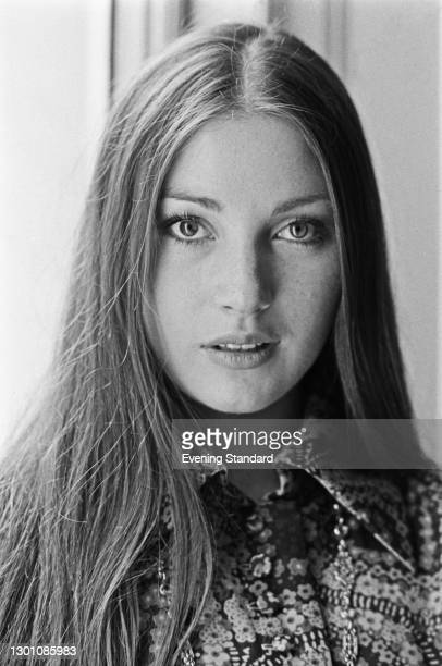 British actress Jane Seymour, UK, June 1973. She appeared as the psychic Solitaire in the James Bond film 'Live and Let Die' that year.