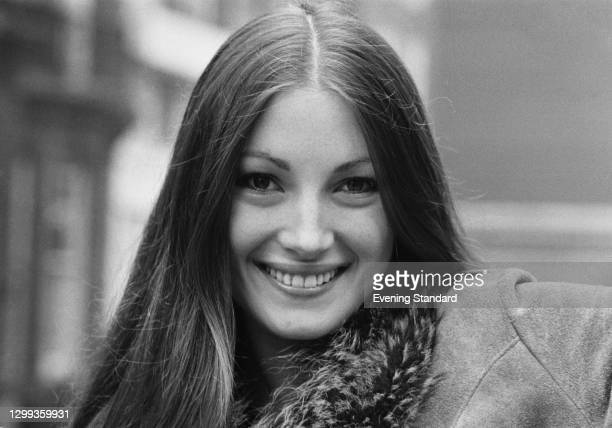 British actress Jane Seymour, who is set to appear in the next James Bond film, 'Live and Let Die', UK, 11th October 1972.