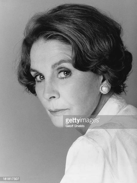 British actress Jean Simmons , London, 1988.