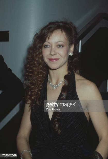 British actress Jenny Agutter attends the BAFTA awards at the Grosvenor House hotel in London 5th March 1985