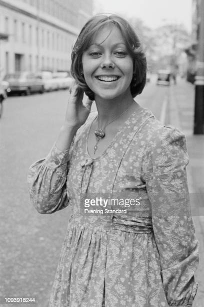 British actress Jenny Agutter UK 8th May 1975