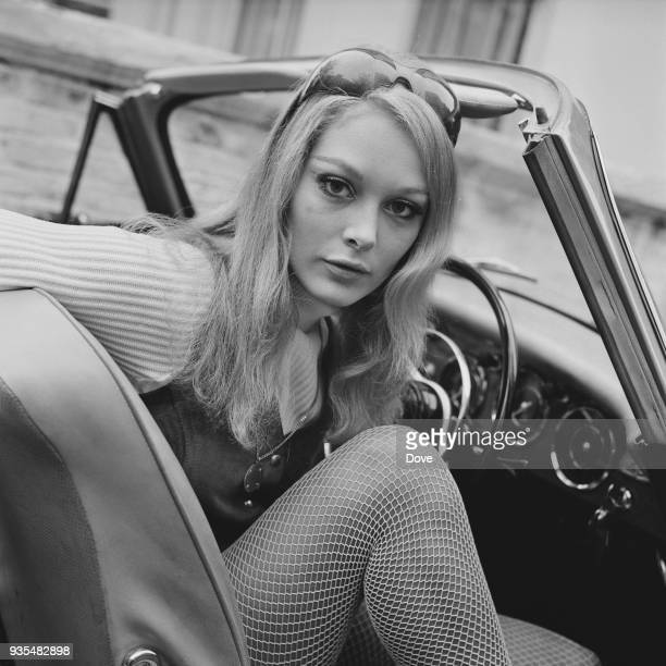 British actress Jenny Hanley UK 7th October 1968