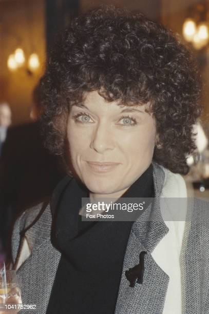 British actress Jill Gascoine at the Theatre Royal on Drury Lane London 1984