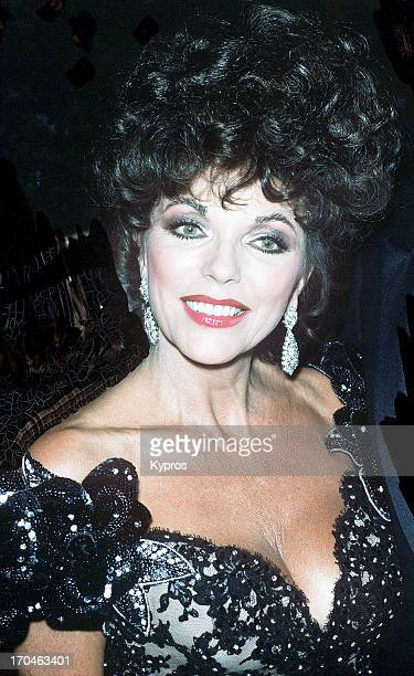British actress Joan Collins circa 1990